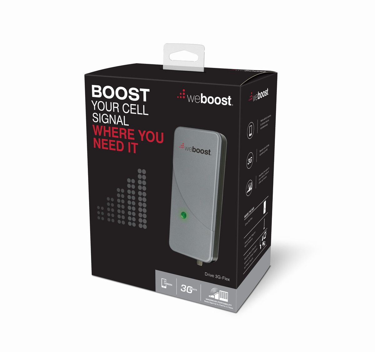 Wilson weBoost Drive 3G-Flex Cell Phone Signal Booster, Refurbished | 470113R