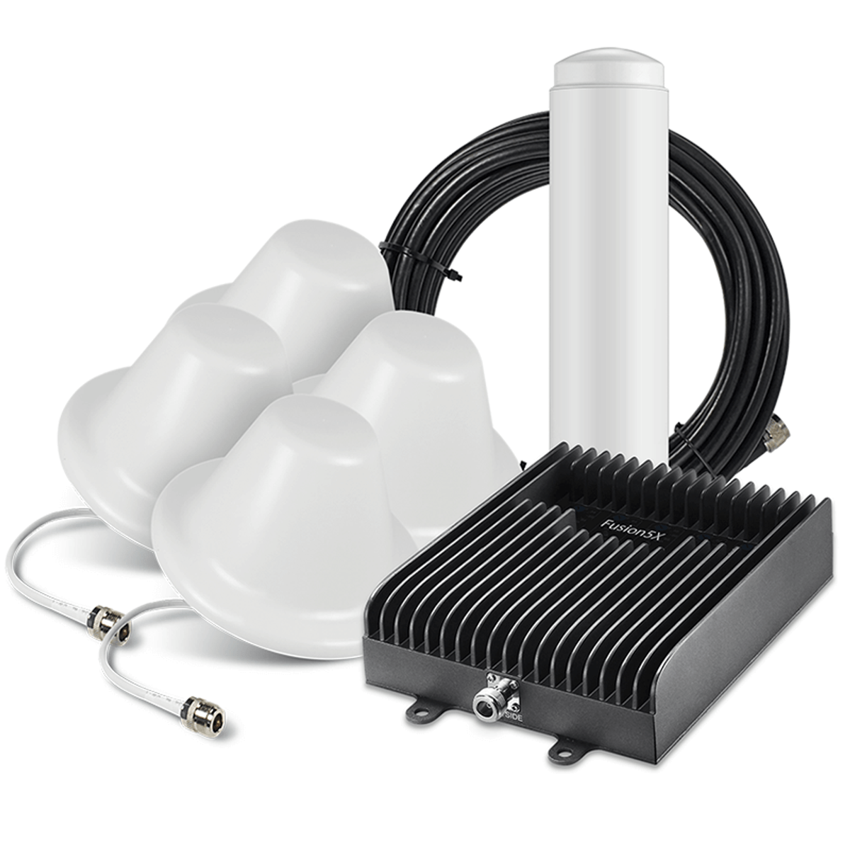 SureCall Fusion5X 2.0 Signal Booster Kit with 4 Inside / 1 Outside Antennas