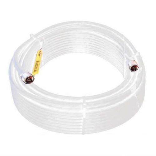 Wilson 952400 100-Foot WILSON400 Ultra Low-Loss Coaxial Cable Male-Male - White, main