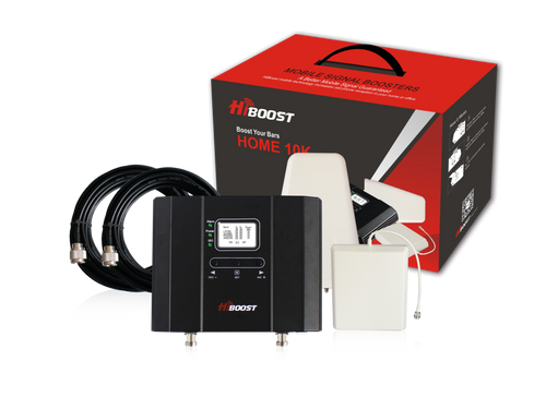 HiBoost Home 10K LCD Cell Phone Signal Booster Kit | F15G-5S-LCD