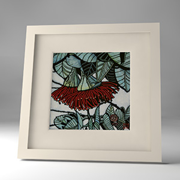 rose mallee framed print