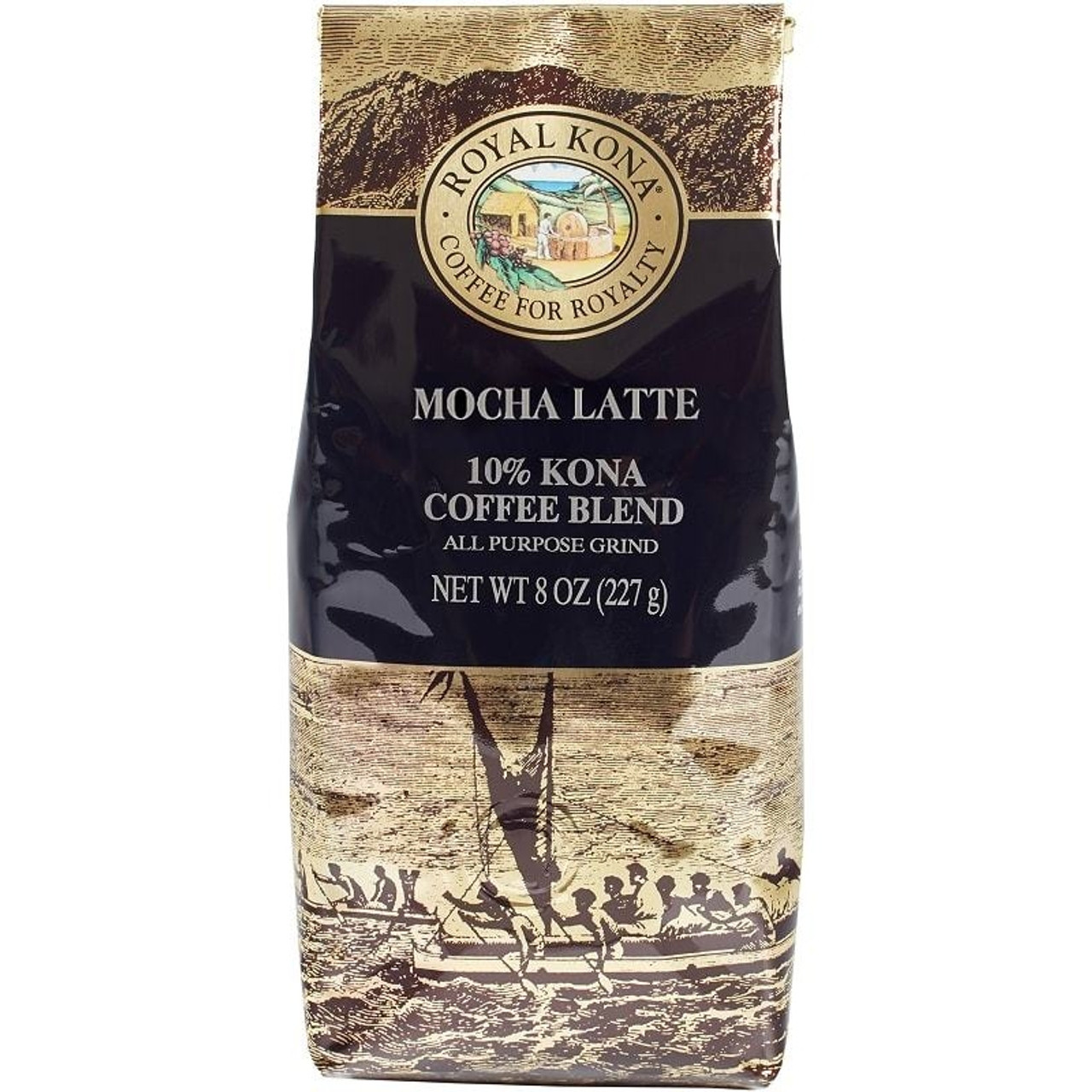 Royal Kona Mocha Latte Flavored