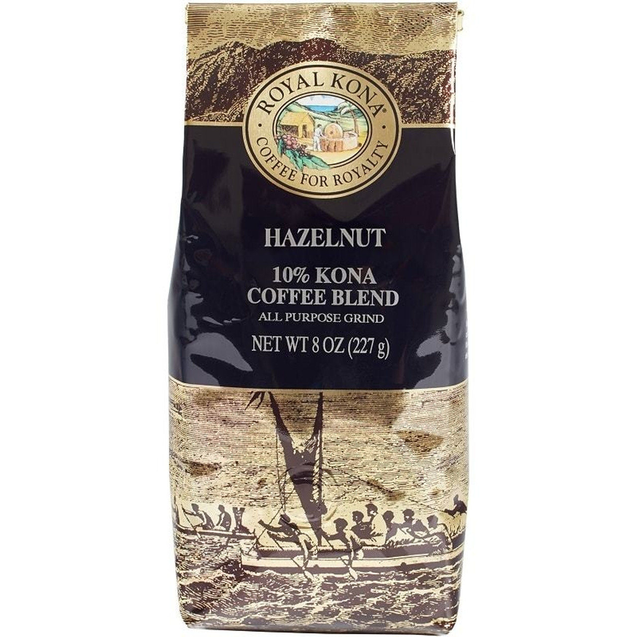 Royal Kona Hazelnut Flavored