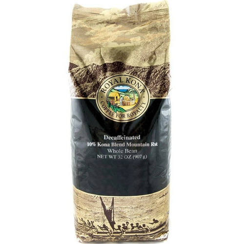 Decaf Mountain Roast 10% Kona Coffee 2lb