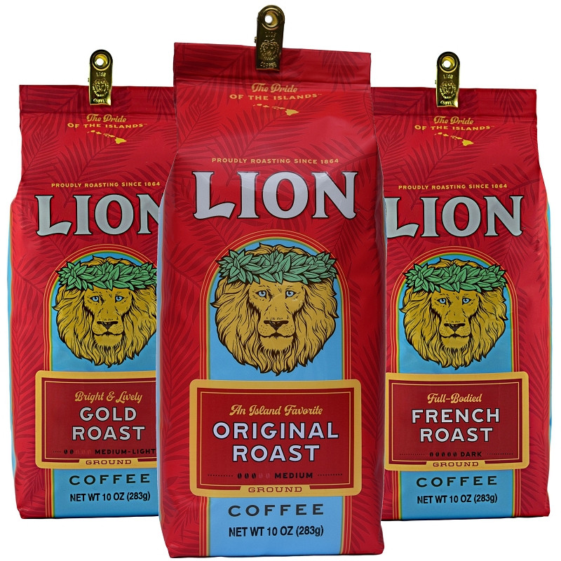 Classic Lion Coffee Blend Collection