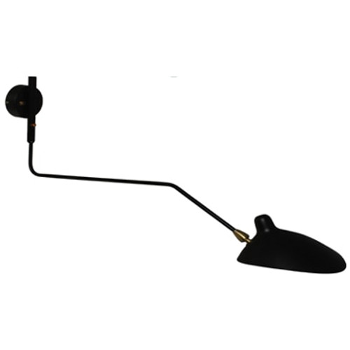 Serge Mouille Ceiling Lamp Fixture Replica With 6 Arms