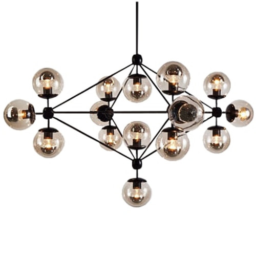 replica lighting. Jason Miller Modo Glass Chandelier Replica Lighting
