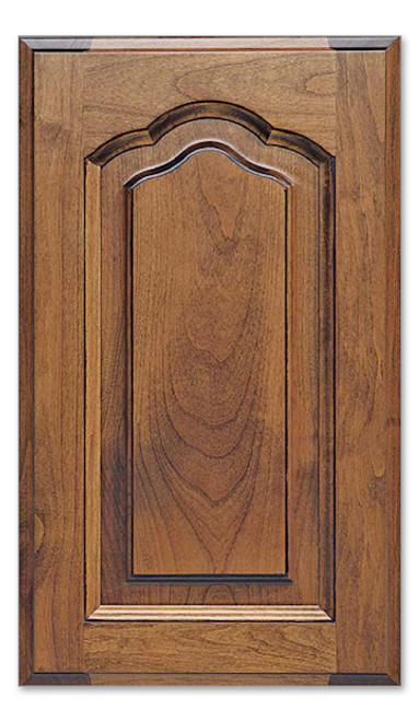 Arched Raised Cabinet Doors