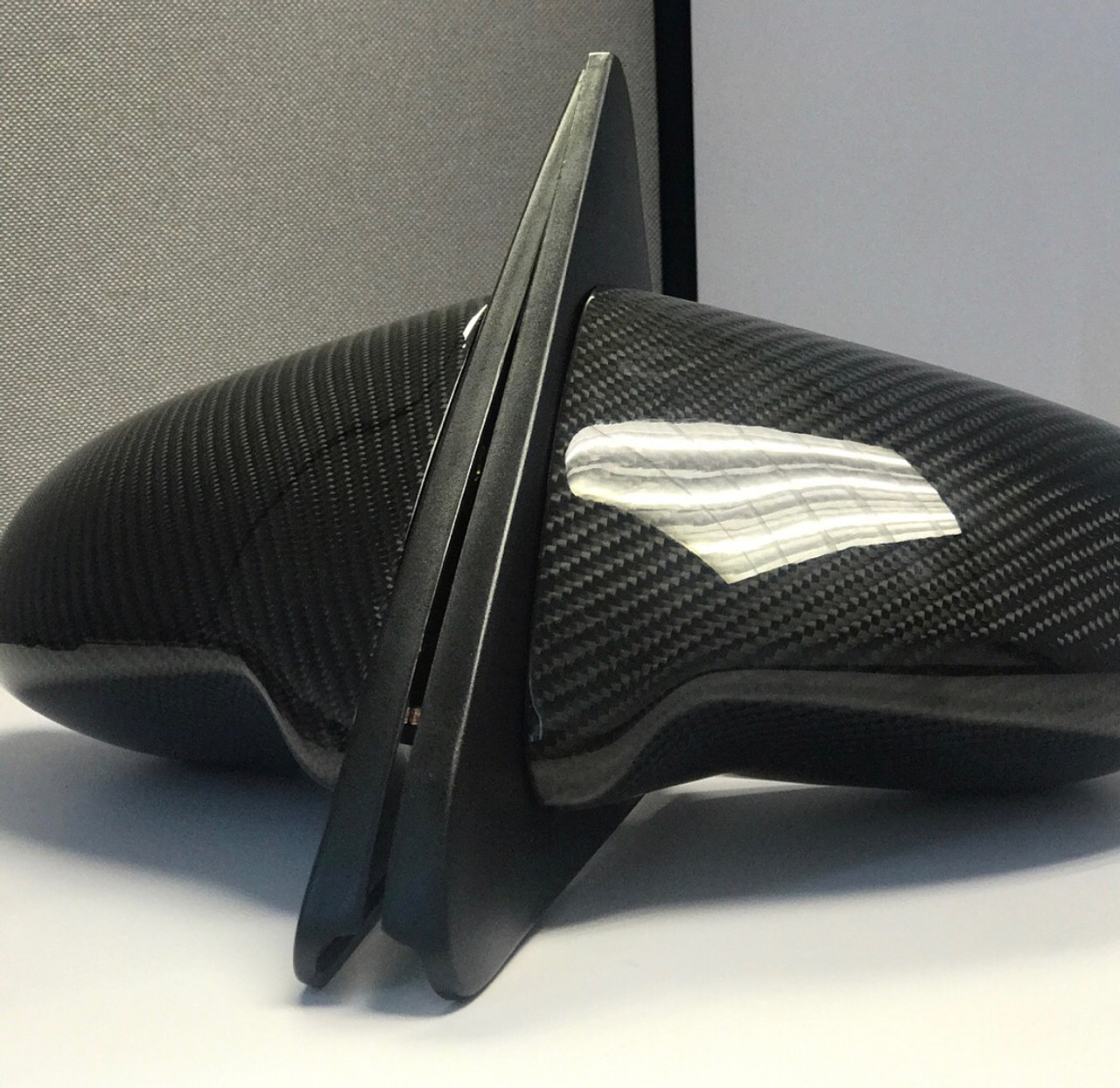 Carbon Fiber Mirrors (spoon style)