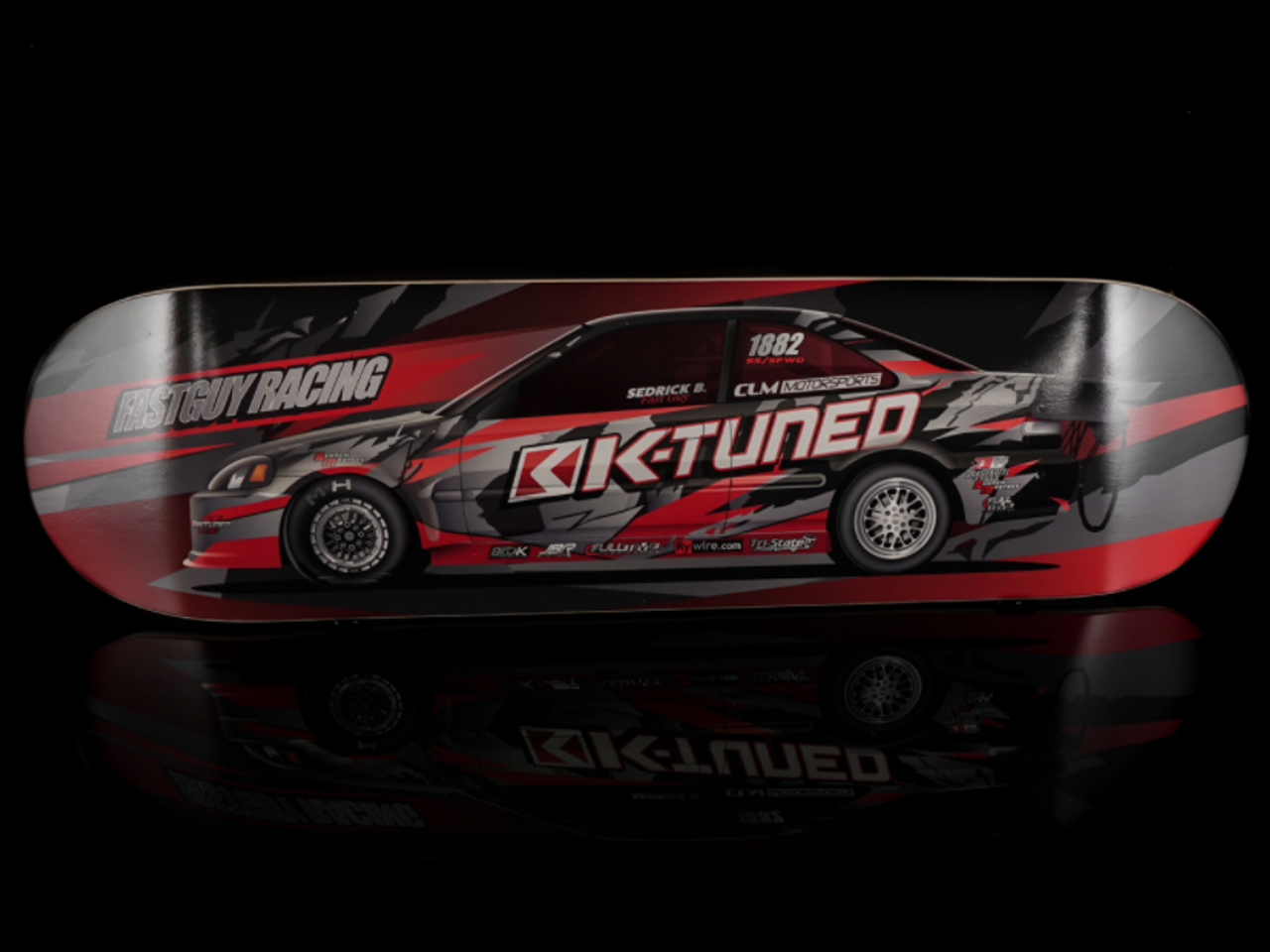 K-Tuned - Fast Guy Racing SFWD Skateboard