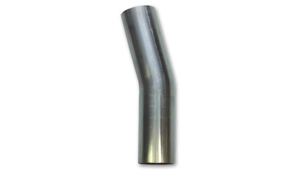 Vibrant - T304 Stainless Steel 15 Degree Mandrel Bend