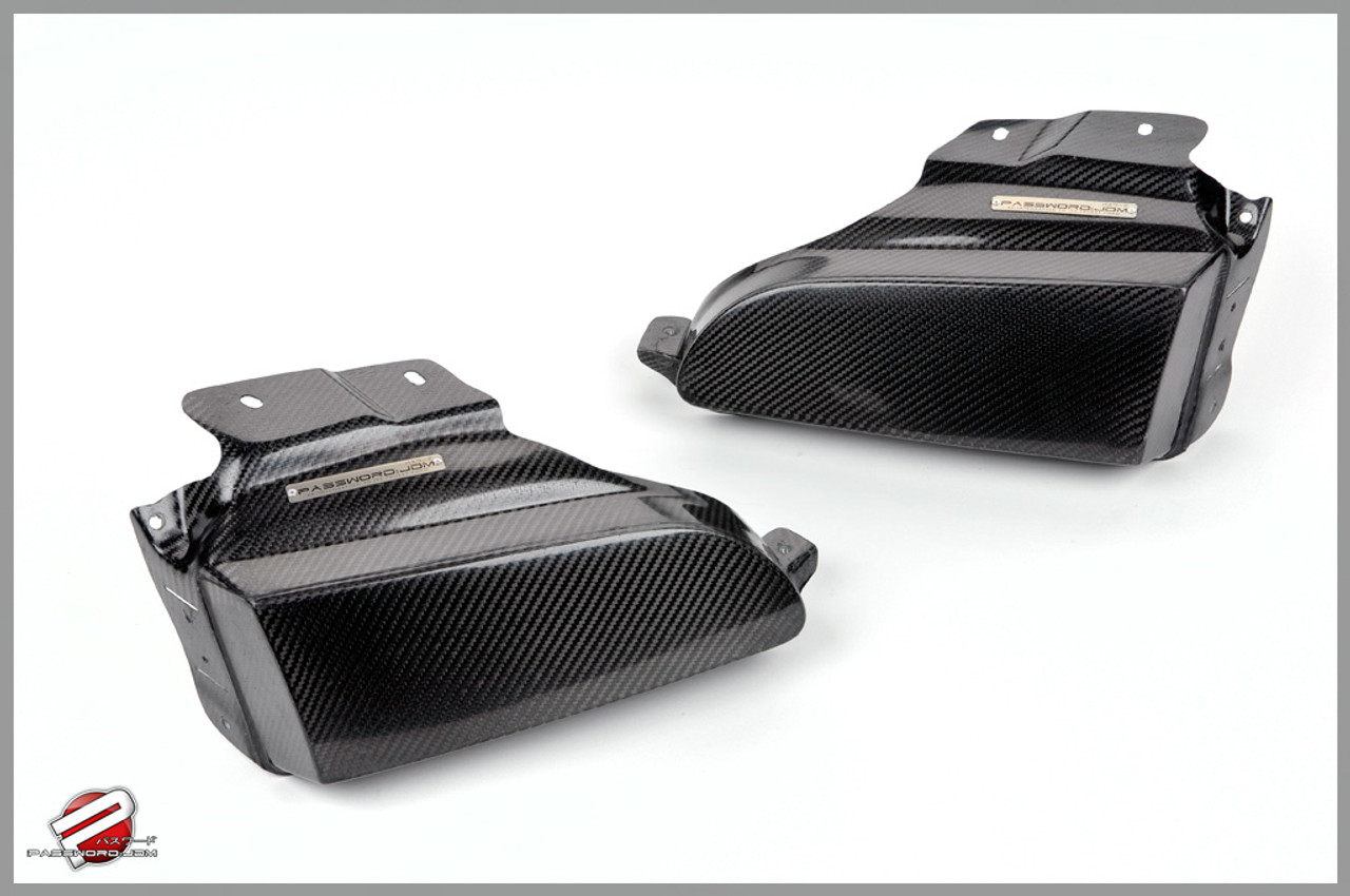 Password Jdm - Dry Carbon Fiber Headlight Block Off Plate (EG 92-95 Civic)