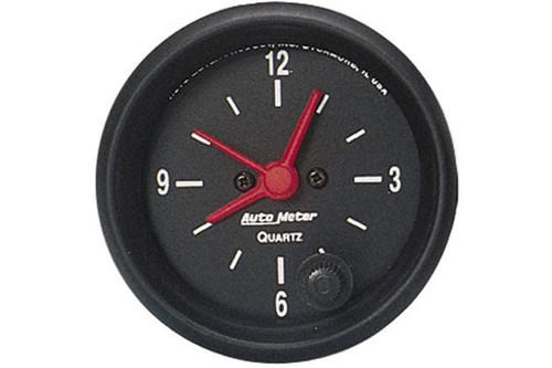 AutoMeter - 2-1/16 CLOCK, 12 HOUR, Z-SERIES