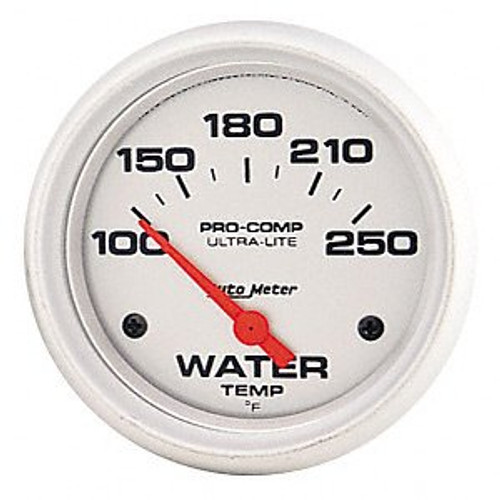 AutoMeter - 2-1/16 WATER TEMPERATURE, 100-250 å¡F, ULTRA-LITE