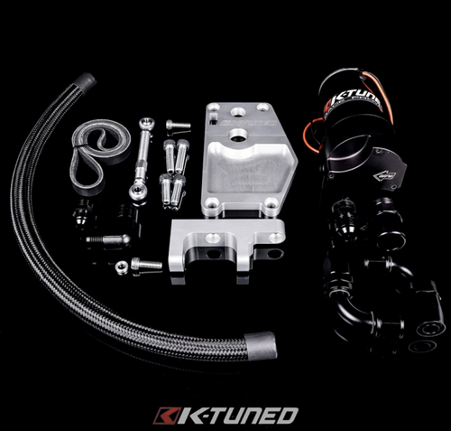 K-Tuned - K-Water Plate w/ Alt Kit, Belt, Elect. Pump, Plate/Pump fittings