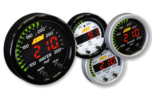 AEM - AEM X-Series Temperature 100-300F Gauge Kit
