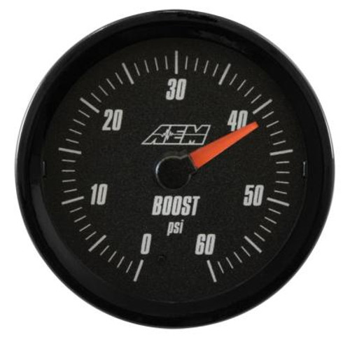 AEM - Analog Boost Gauge (SAE Measurement 0-60psi)