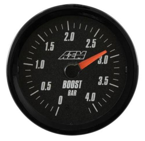 AEM - AEM Analog 4.1Bar Boost Gauge (Metric)