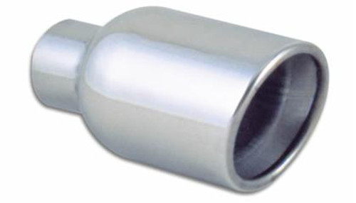 Vibrant - Round Stainless-Steel Tip (Double Wall, Angle Cut)