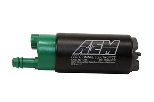 AEM - E85 High Flow In-Tank Fuel Pump (Short Offset Inlet)