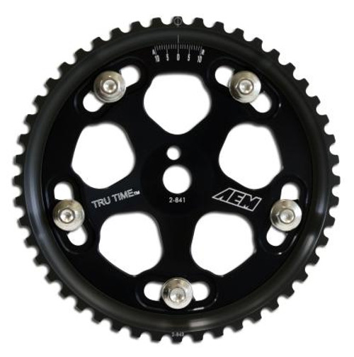 AEM - Adjustable Tru Time Cam Gear (Evo 8 & 9 - Black)