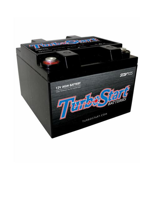 TurboStart - 12-Volt AGM Race Battery (S12V925)
