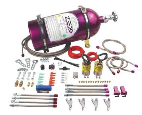 ZEX - Nitrous Oxide 50-200HP 4-Cylinder EFI Direct Port Nitrous System