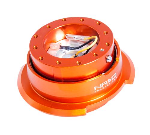 NRG - Quick Release GEN 2.8 (Orange Body/Orange Ring)