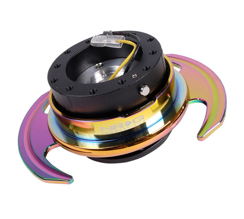 NRG - Quick Release GEN 3.0 (Black/Neo Chrome Ring)