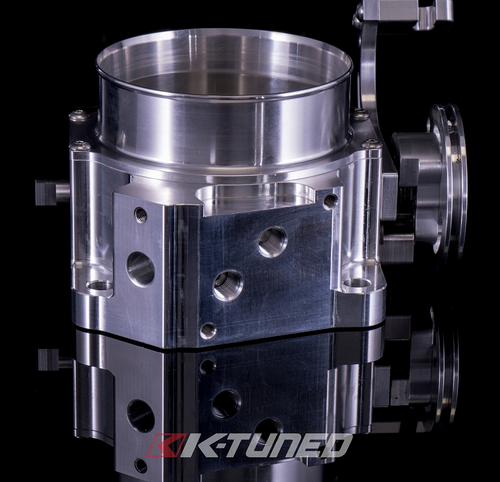 K-Tuned - 80mm Throttle Body w/IACV and MAP Ports K-Series or B-Series