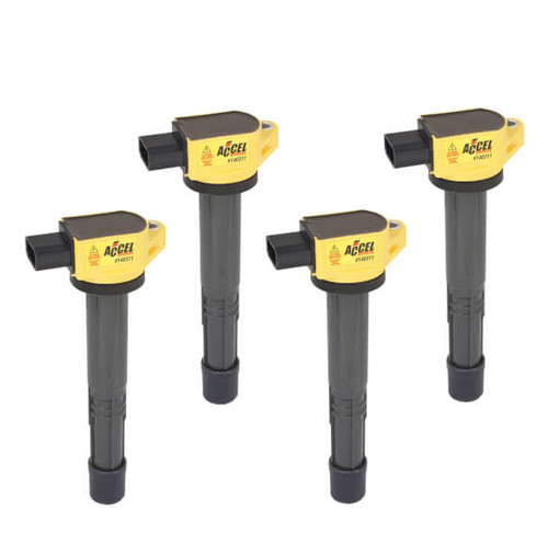 Accel - IGNITION COIL - SUPERCOIL - HONDA 2.0/2.2/2.4L - I4 - 4-PACK