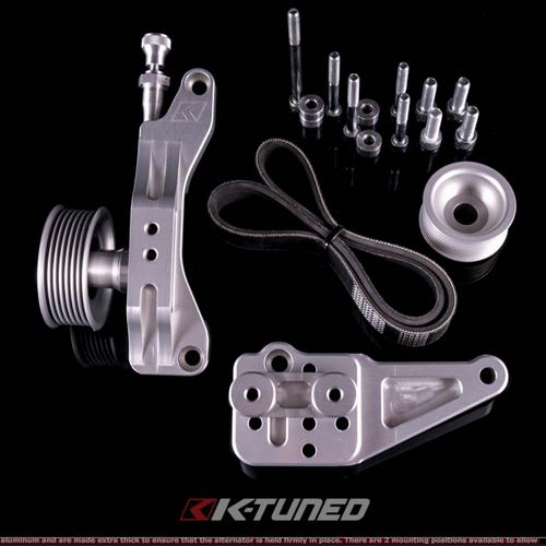 K-Tuned - K-Series Alternator Water Plate Kit