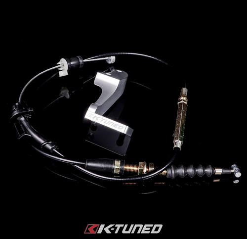K-Tuned - K-Series Throttle Cable & Bracket