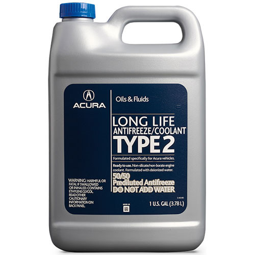 Acura - Genuine Acura Antifreeze/Coolant - Type 2