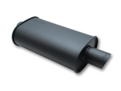 Vibrant - Flat Black Stainless Steel Universal Mufflers