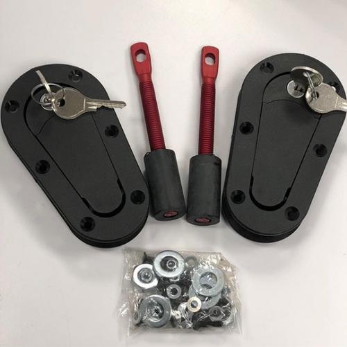 AeroCatch Hood Pins (with lock)