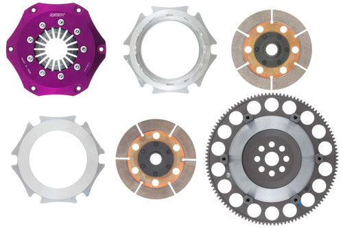 Exedy - B-Series Hyper Compe-R Carbon Twin-Disc Clutch