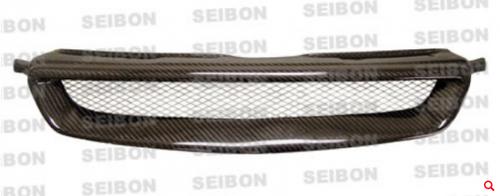 Seibon - TR-STYLE CARBON FIBER FRONT GRILLE FOR 1996-1998 HONDA CIVIC