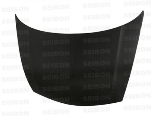 Seibon - 06-11' 4DR Civic / Acura CSX JDM FD2 OEM-Style Carbon Fiber Hood (No Vents)
