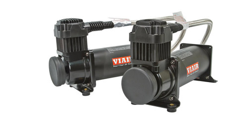 Air Lift Performance - Viair 444C Dual Pack Compressor - 200 PSI - Black