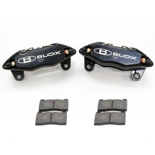 Blox Racing - 4-Piston Forged Calipers with Pads