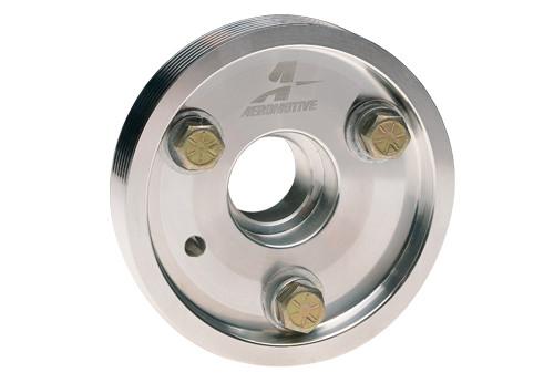 Aeromotive - Billet, LT1 Crank. 34% Under drive Pulley (Serpentine Belt)