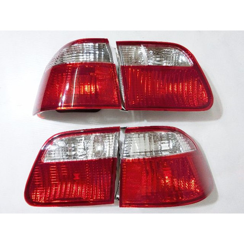 Depo - 99-00' Civic 4-Door Sedan Tail Lights