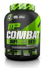 MusclePharm Combat 100% Casein Protein Powder - Vanilla, 4 Lbs