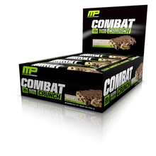 MusclePharm Combat Crunch Bar - Chocolate Chip Cookie Dough (12 bars in a pack)