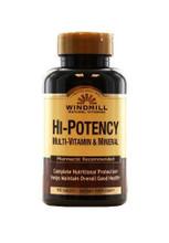 Windmill Hi Potency Multi-Vitamin & Mineral - 90 Capsules