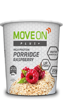 Move On Plus Porridge 70g Raspberry with Minerals