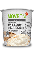 Move On Plus Porridge 70g Creamy flavored / Seeds