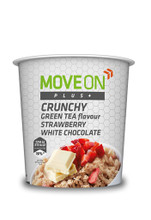 Move On Plus Crunchy 70g Green tea/Straw & White