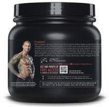 POST JYM Active Matrix Natural Lemon Lime Back